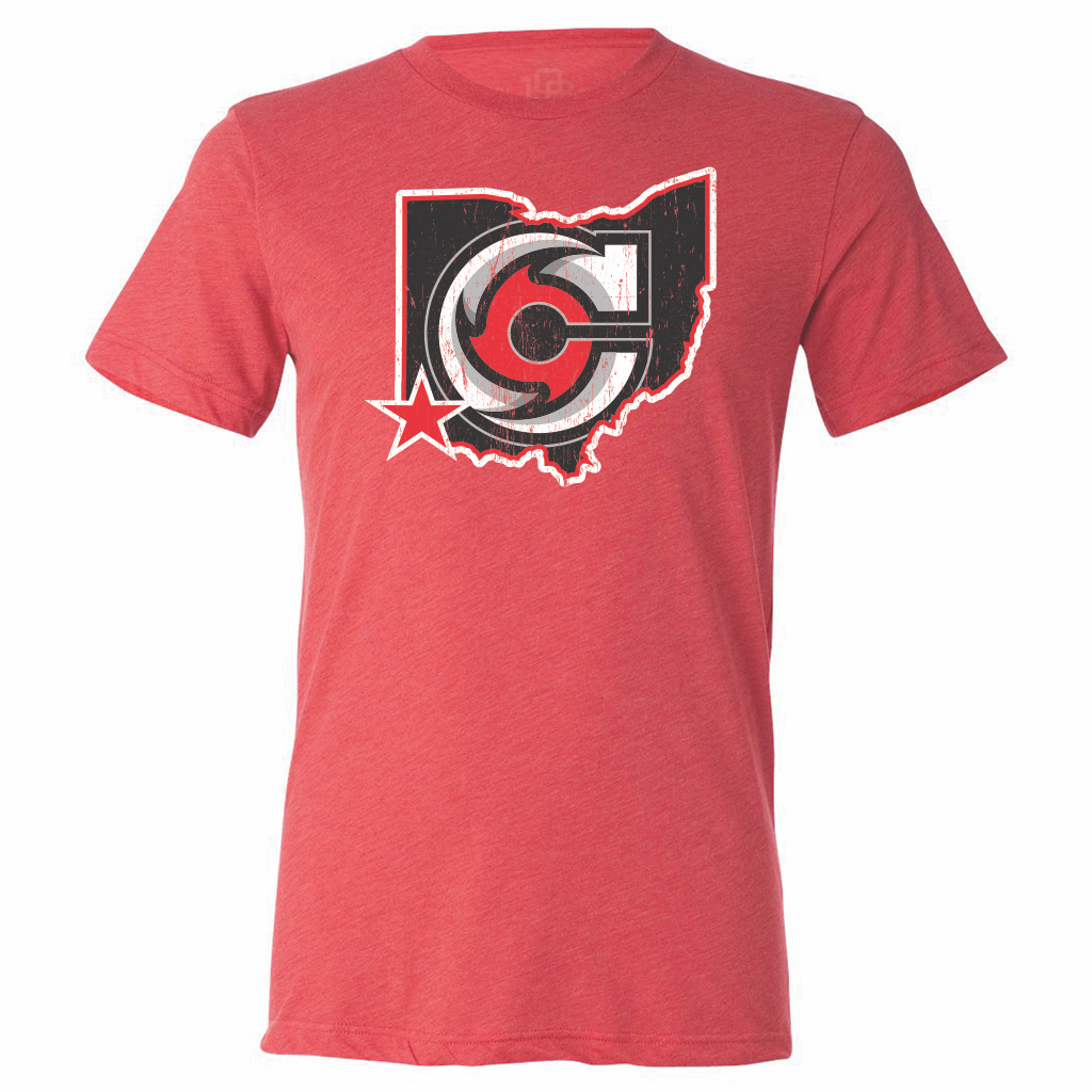 Cincinnati Cyclones Men's State Tee