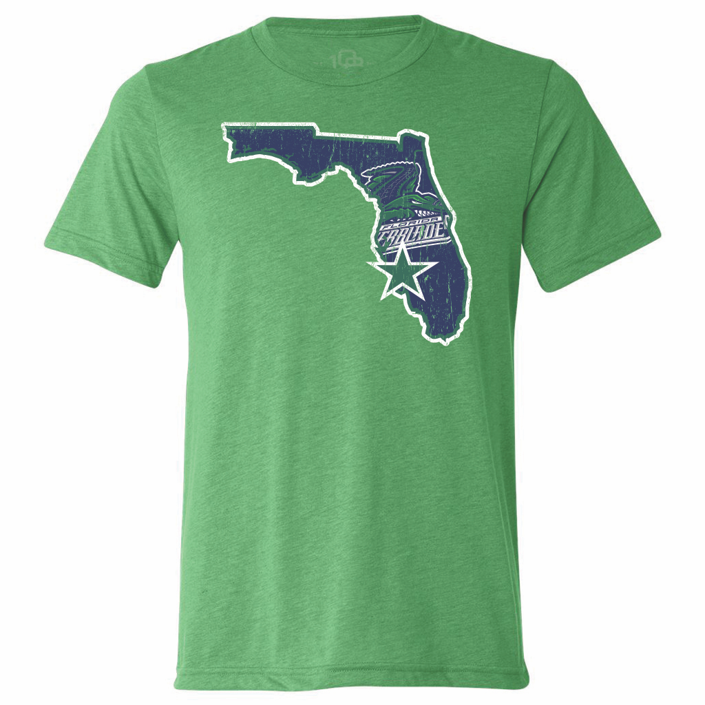 Florida Everblades Men's State Tee