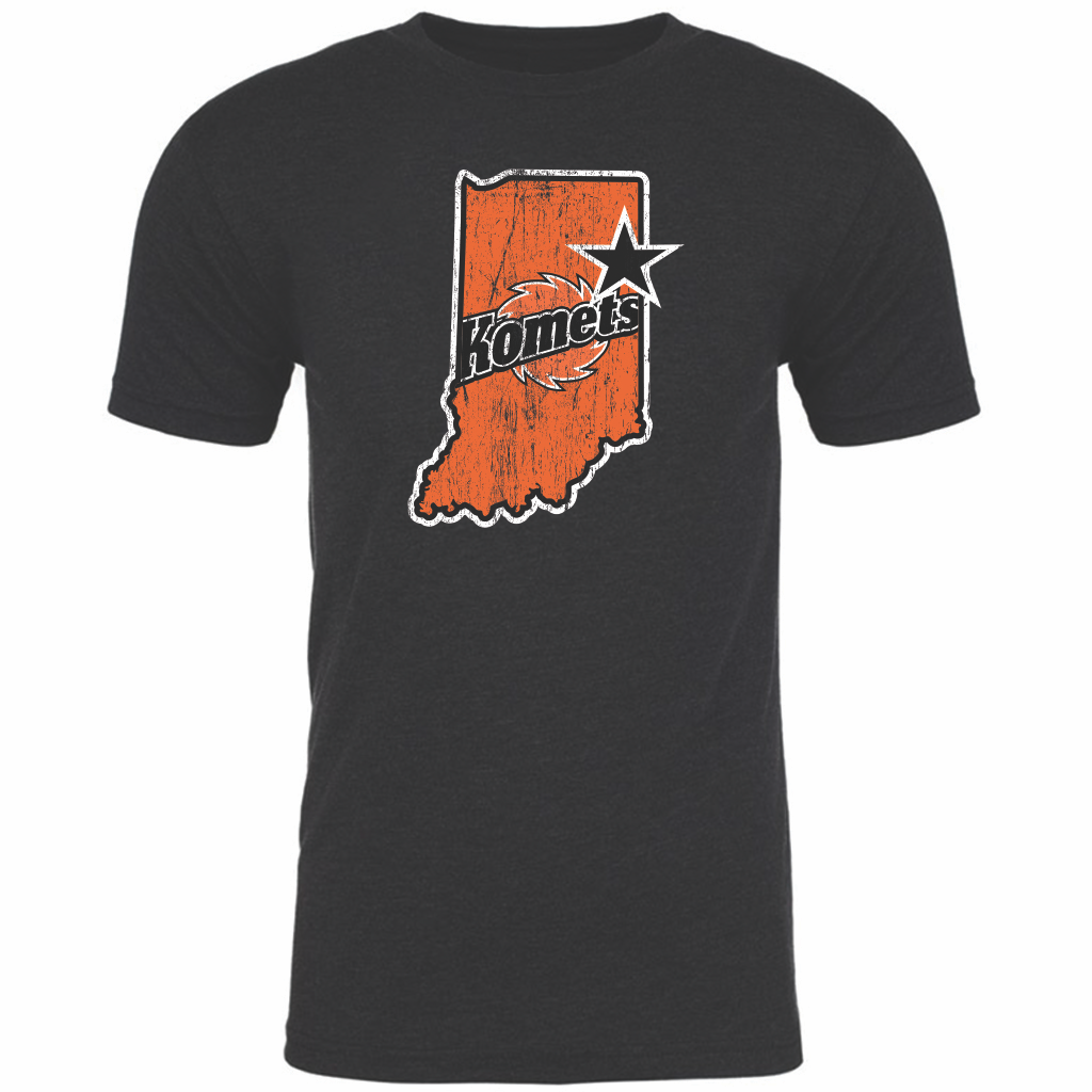 Fort Wayne Komets Men's State Tee