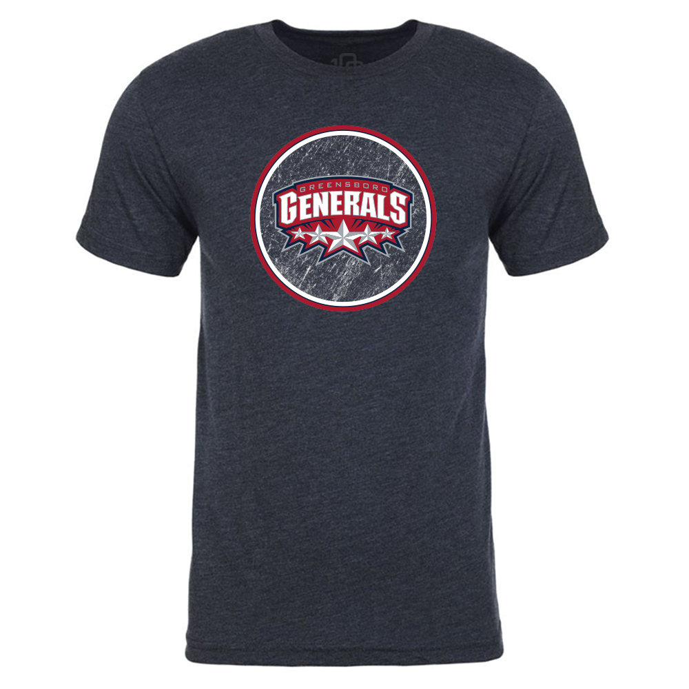 Greensboro Generals Circle T-Shirt