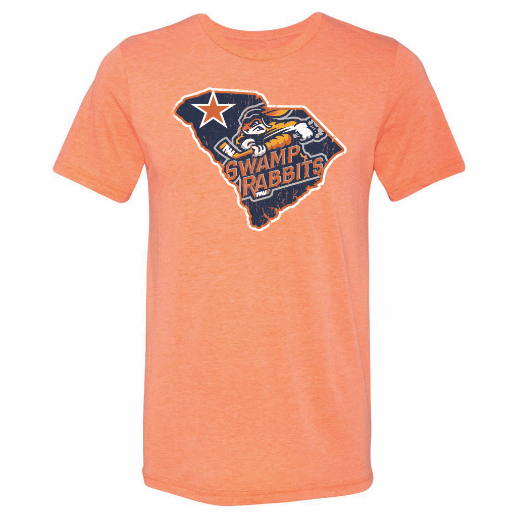 Greenville Swamp Rabbits Men's State Tee