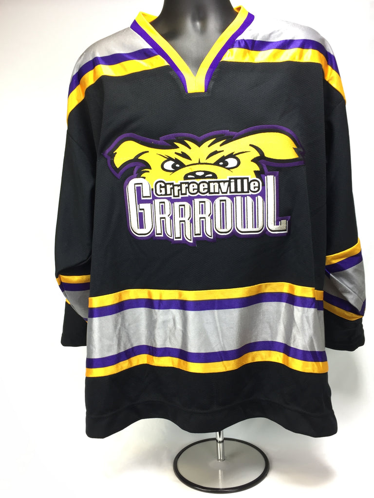 Greenville Replica Hockey Jersey - Dark - L