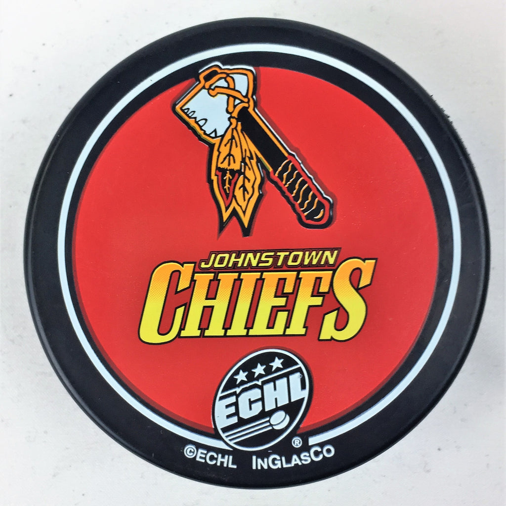Johnstown Chiefs Hockey Puck