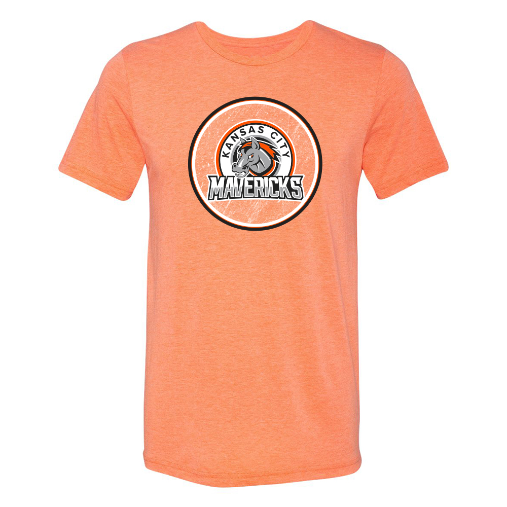 Kansas City Mavericks Circle T-Shirt
