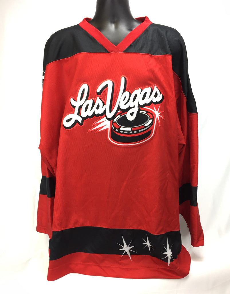 Las Vegas Wranglers Authentic Jersey - Red - 58