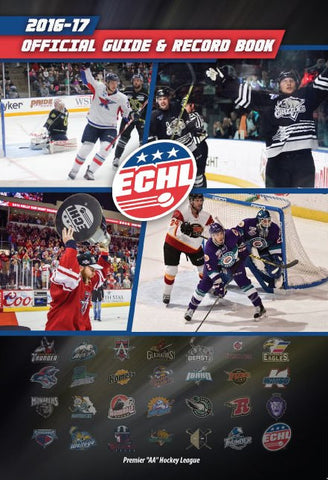 2016-17 ECHL Media Guide - Print Edition