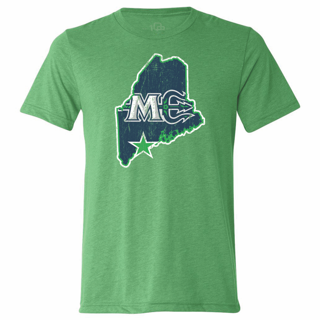 Maine Mariners Men's State Tee