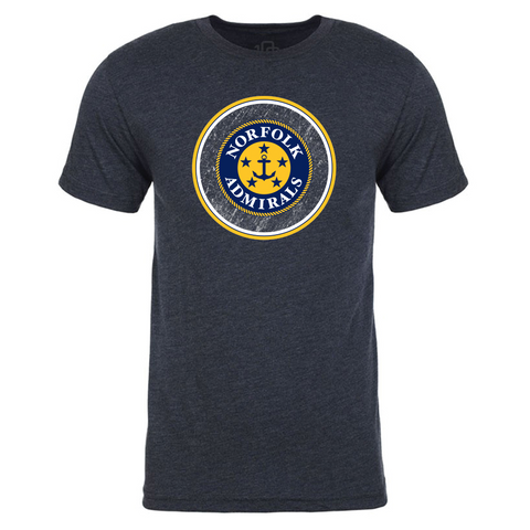 Norfolk Admirals Circle T-Shirt