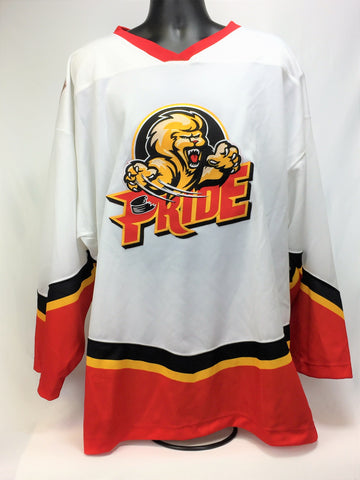 Pee Dee Replica Hockey Jersey - White - XXL