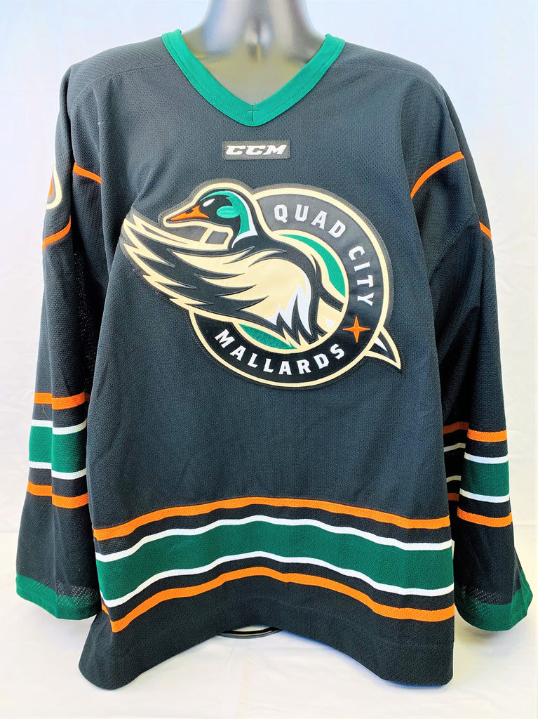 Quad City Mallards Authentic Jersey