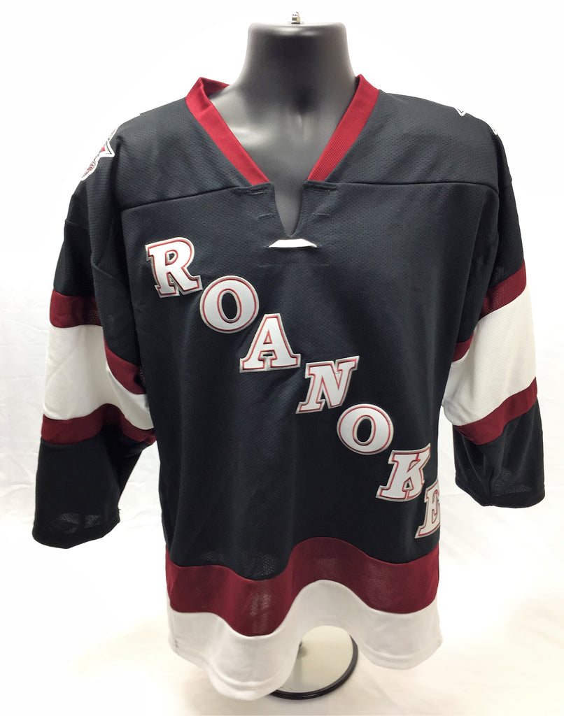 Roanoke Replica Hockey Jersey - Dark - Youth Large