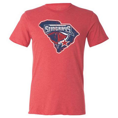 South Carolina Stingrays Men's State Tee