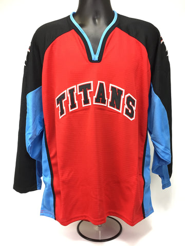 Trenton Replica Hockey Jersey - Red - YOUTH