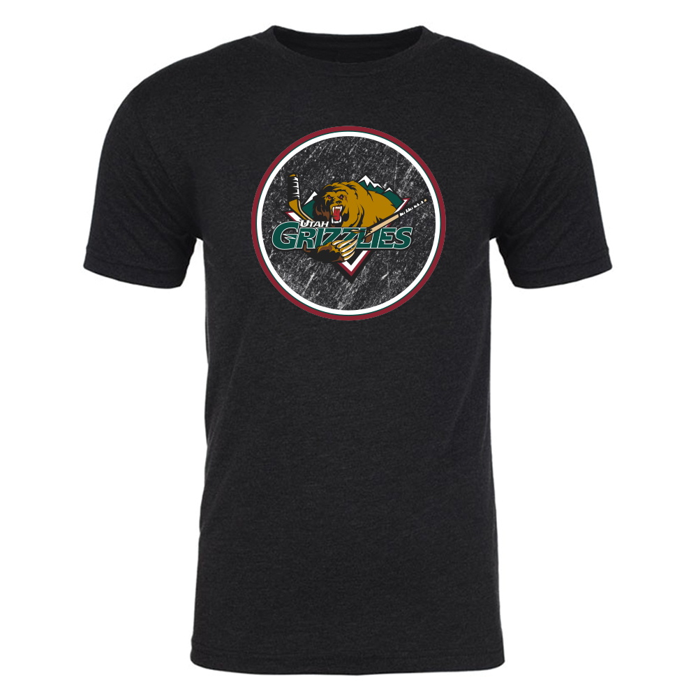 Utah Grizzlies Circle T-Shirt