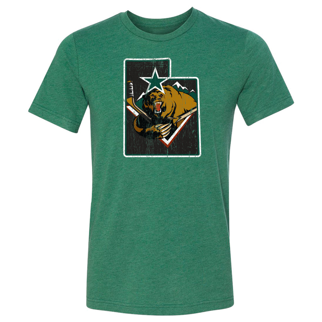 Utah Grizzlies Men's State Tee