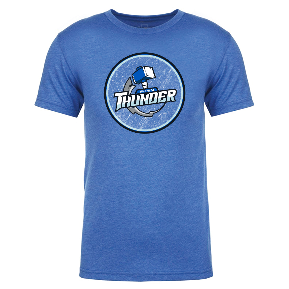 Wichita Thunder Circle T-Shirt