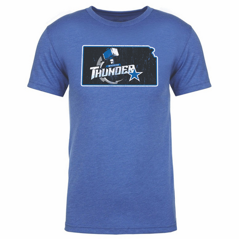 Wichita Thunder Men's State Tee