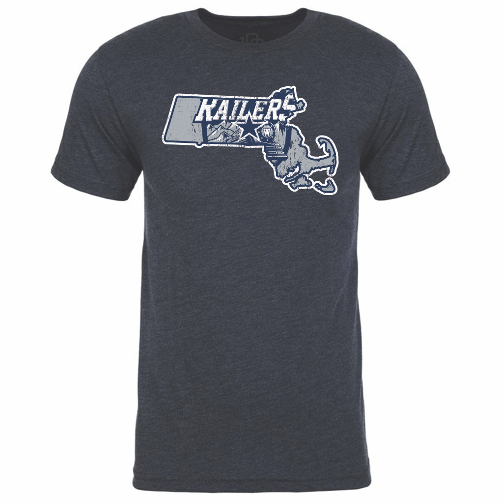 Worcester Railers Men's State Tee