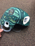 Central Hockey League - Quad City Mallards - Foam Helmet