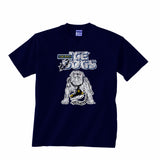 Long Beach Ice Dogs Crested T-Shirt