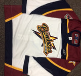 Dayton Bombers Authentic Jersey - White - Size 52
