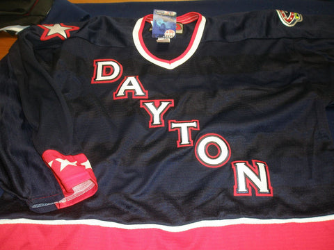 Dayton Replica Hockey Jersey - Dark Wordmark - XL