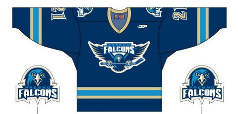 Fresno Falcons Replica Jersey - Dark