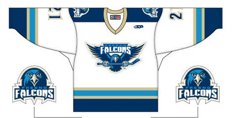 Fresno Falcons Replica Jersey - White - Youth