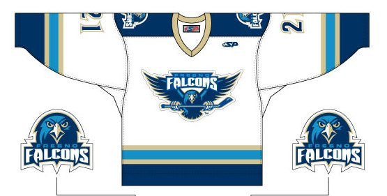 Fresno Falcons Replica Jersey - White