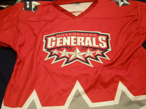 Greensboro Replica Hockey Jersey - Dark - XL
