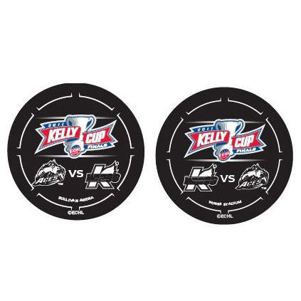 2011 ECHL Kelly Cup Final Pucks - Set of 2