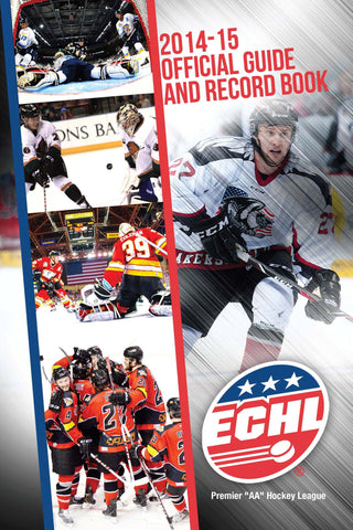 ECHL Media Guide - Print Edition - 2014-15