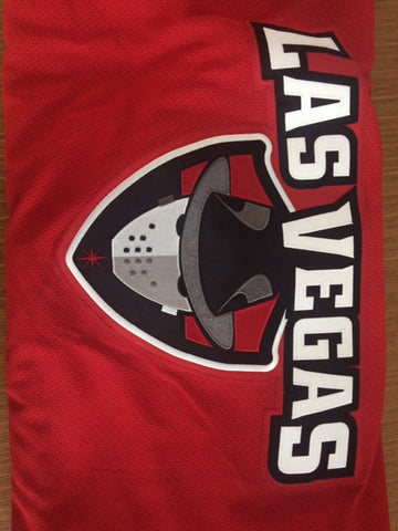 Las Vegas Wranglers Authentic Jersey - Red - 56