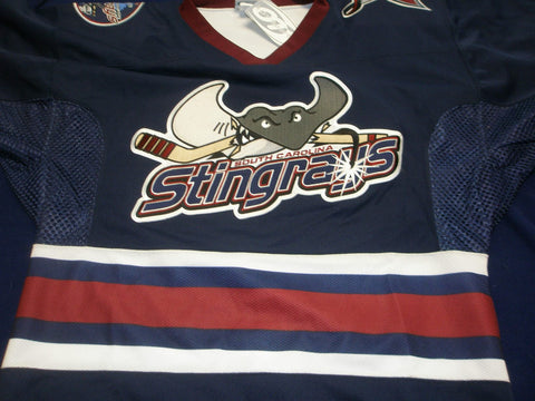 South Carolina Stingrays Authentic Jersey - Blue - 50