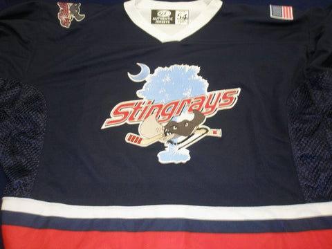 South Carolina Stingrays Authentic Jersey - Blue- 54