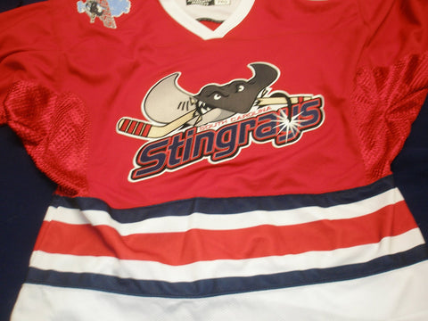 South Carolina Stingrays Authentic Jersey - Red - 52