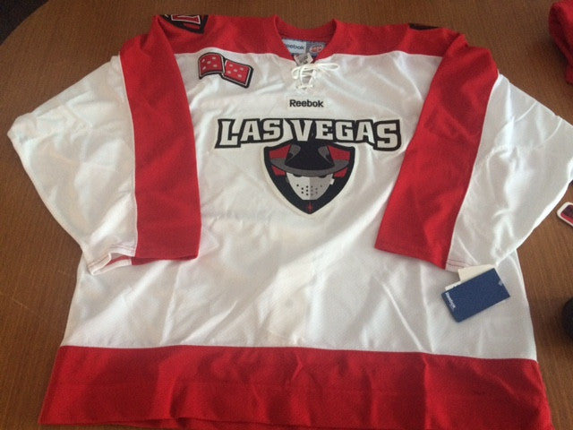Las Vegas Wranglers Authentic Jersey - White - 56