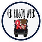 Red Ribbon Week Transfers