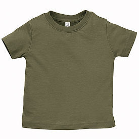 Military Green Infant Fine Jersey T-Shirt-Country Gone Crazy-Country Gone Crazy