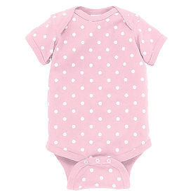 Ballerina/White Polka Dot Onesie-Country Gone Crazy-Country Gone Crazy