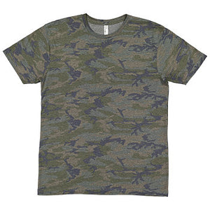 LAT Apparel - Vintage Camo - Fine Jersey Tee-Country Gone Crazy-Country Gone Crazy
