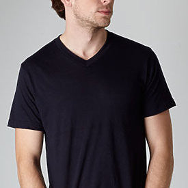 Black Tultex V-Neck Tee-Country Gone Crazy-Country Gone Crazy