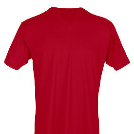 Red Tultex V-Neck Tee-Country Gone Crazy-Country Gone Crazy