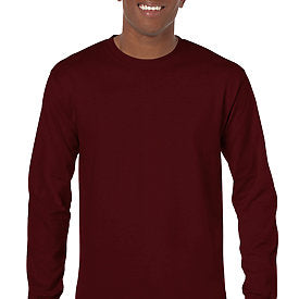Maroon - Adult Long Sleeve Shirt-Country Gone Crazy-Country Gone Crazy