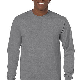 Graphite Heather - Adult Long Sleeve Shirt-Country Gone Crazy-Country Gone Crazy