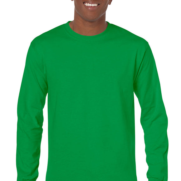 Irish Green - Adult Long Sleeve Shirt-Country Gone Crazy-Country Gone Crazy