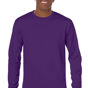 Purple - Adult Long Sleeve Shirt-Country Gone Crazy-Country Gone Crazy