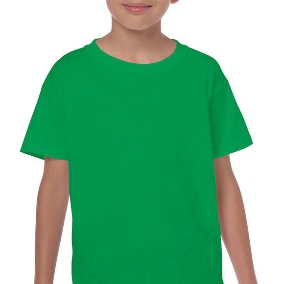 Irish Green - Heavy Cotton Youth T-Shirt-Country Gone Crazy-Country Gone Crazy