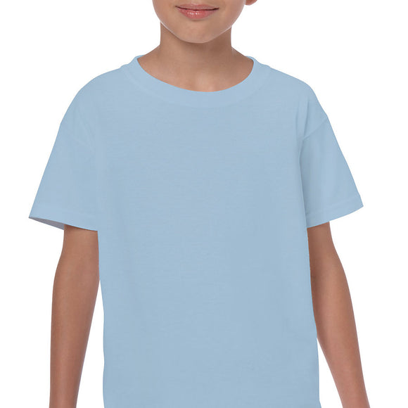 Light Blue - Heavy Cotton Youth T-Shirt-Country Gone Crazy-Country Gone Crazy