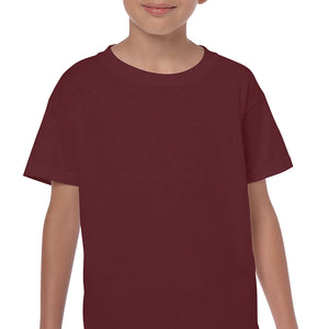 Maroon - Heavy Cotton Youth T-Shirt-Country Gone Crazy-Country Gone Crazy